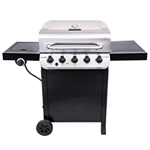 Char-Broil 463373319 Performance 5-Burner Cart Style Gas Grill, Stainless/Black