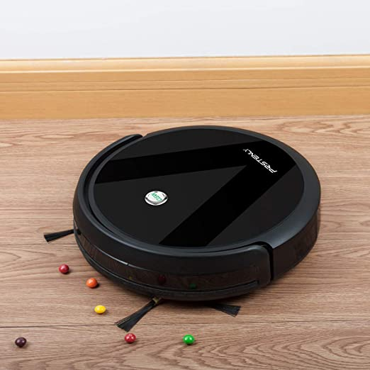 PRSTENLY Robot Vacuum Cleaner with Self-Charging, 1500Pa High Suction Robot Vacuum Cleaner, Automatic Sweeper with Remote for Pet Hair, Carpet, ...