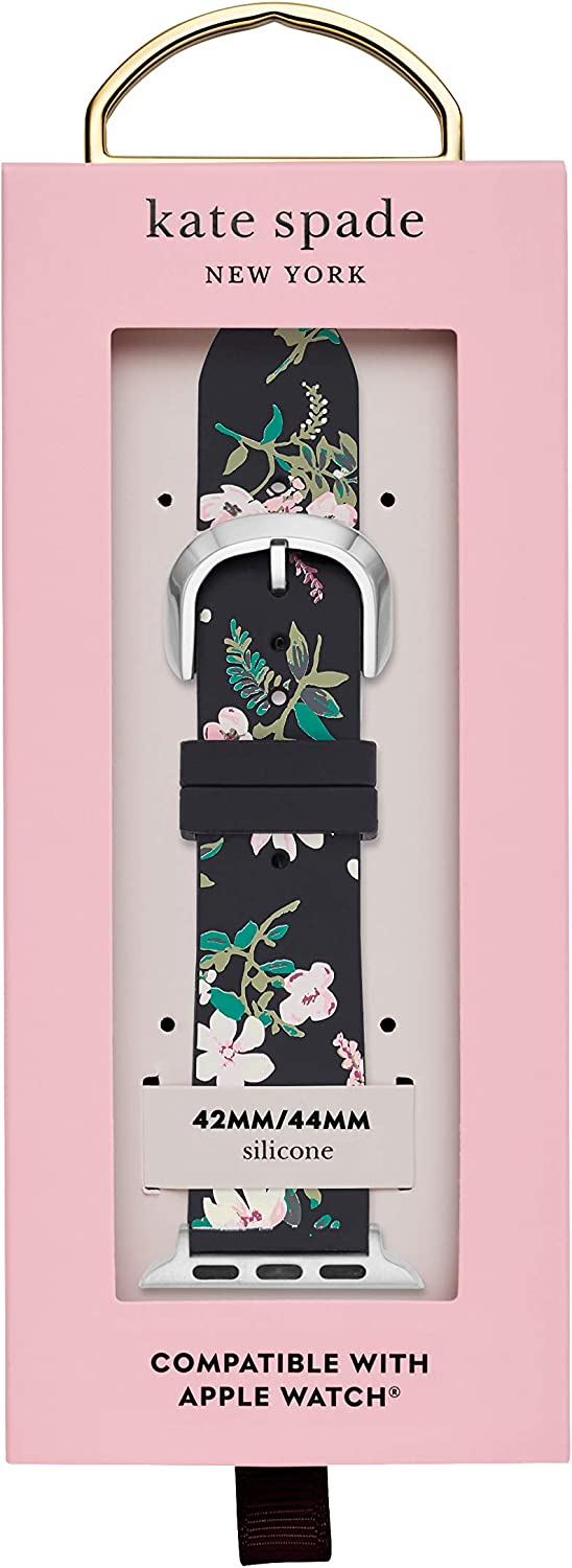 Kate Spade New York Interchangeable Band Compatible with Your 42/44MM Apple Watch- Straps for use with Apple Watch Series 1,2,3,4,5 Multi