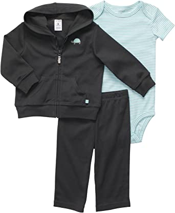 Carter/'s Baby Boy Grey Turtle Hooded Jacket Pants Outfit Size Newborn 3 6 Months