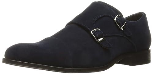 edccacd4c Stacy Adams Men s Slocomb-Cap Toe Double Monk Strap Slip-on Loafer ...