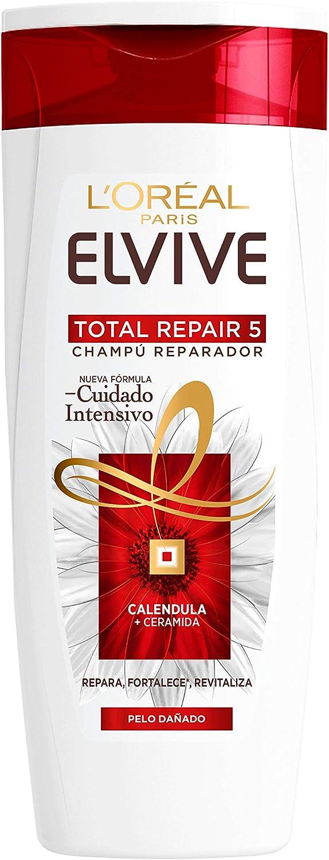L'Oreal Paris Elvive Total Repair 5 Champú Reparador para El Pelo Dañado - 285 ml