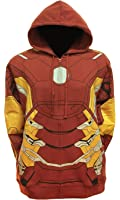 Marvel Comics Iron Man Suit Up Fleece Hoody