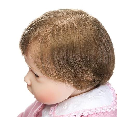 Bebé Reborn NPKDOLL. Muñeco suave de simulación de vinilo de silicona, de 48-55 cm. Muñeco con apariencia realista de niñ 45-64UFES