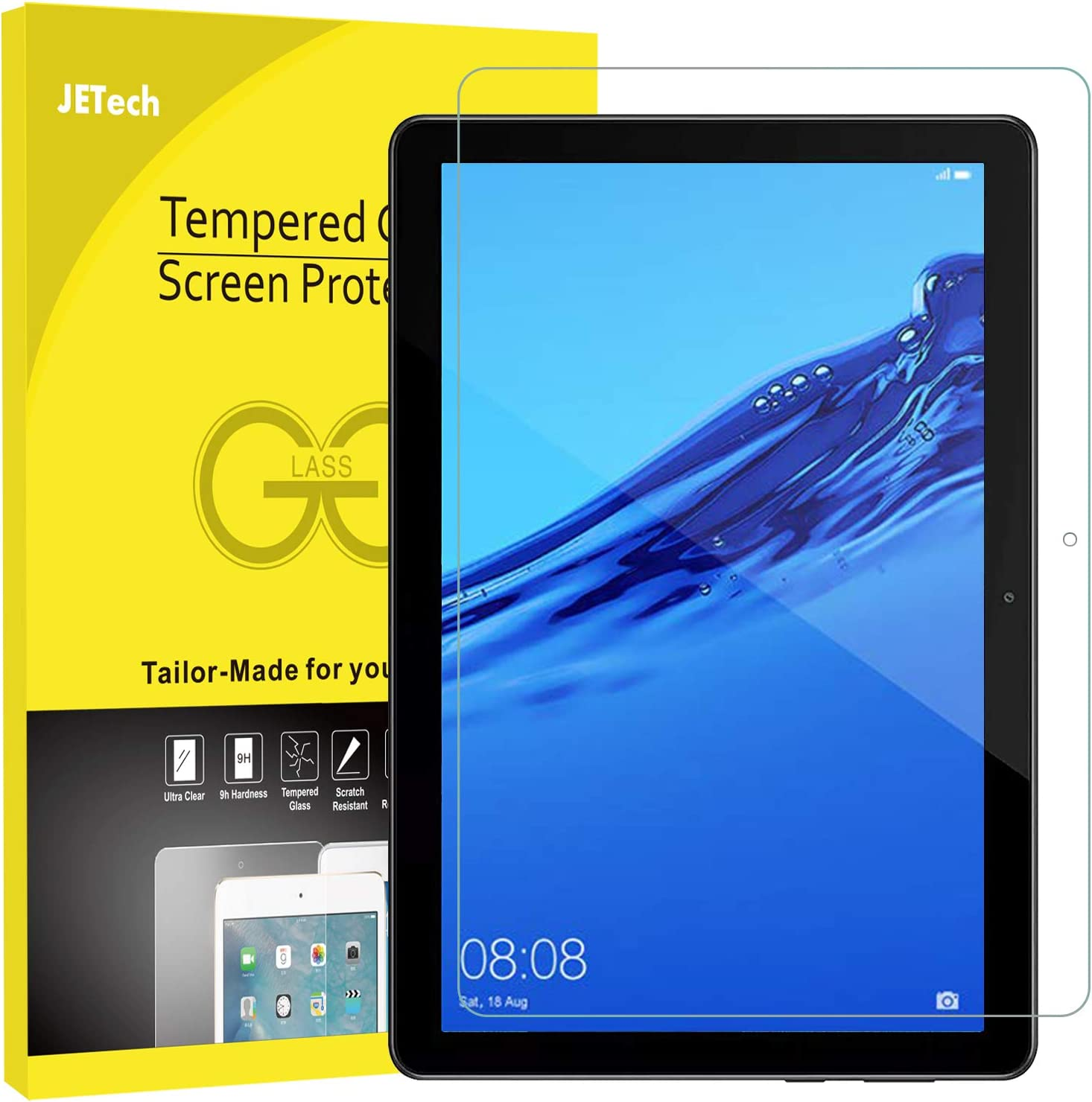 JETech Screen Protector for HUAWEI MediaPad T5 10.1 Tempered Glass Film
