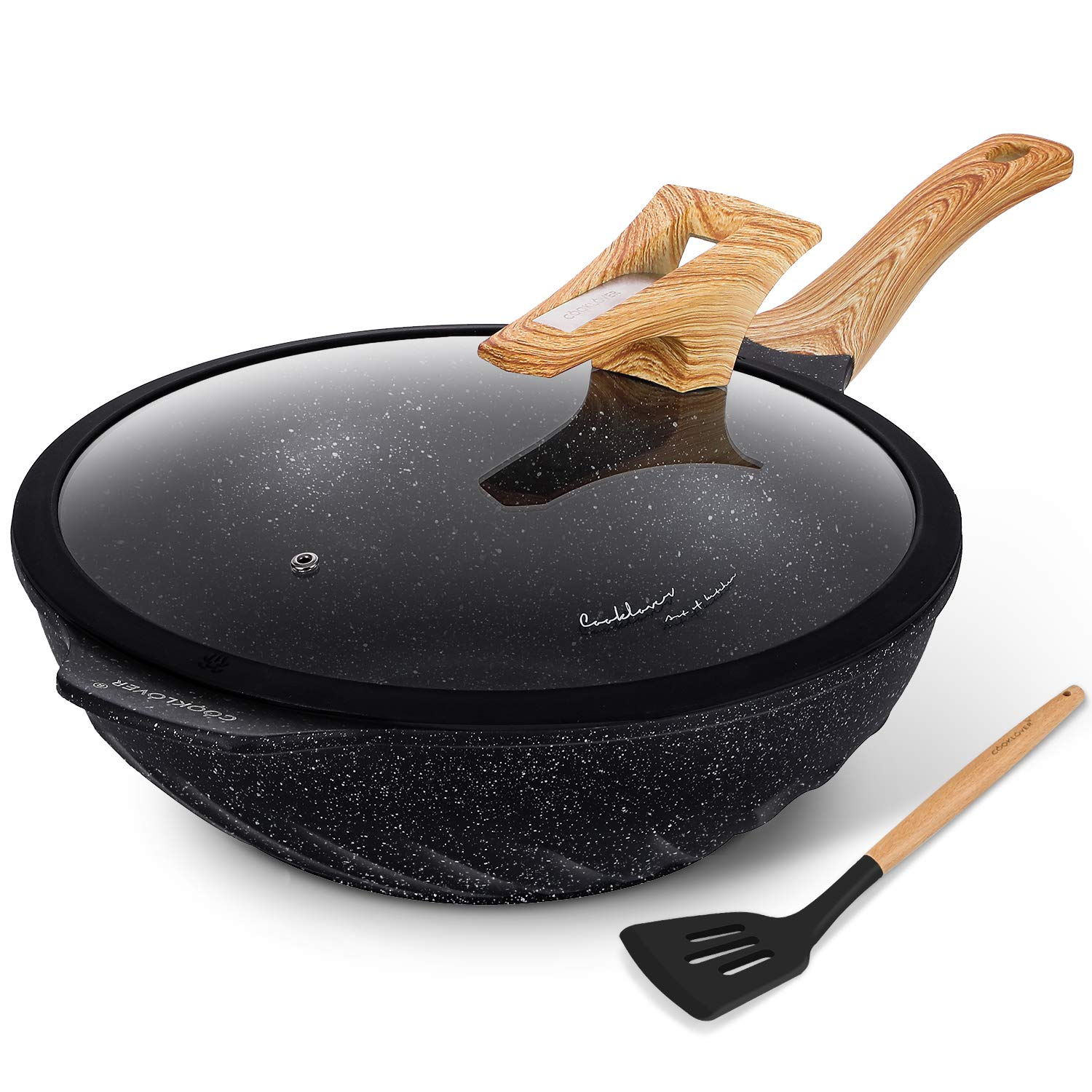 Chinese Wok Nonstick Scratch Resistant
