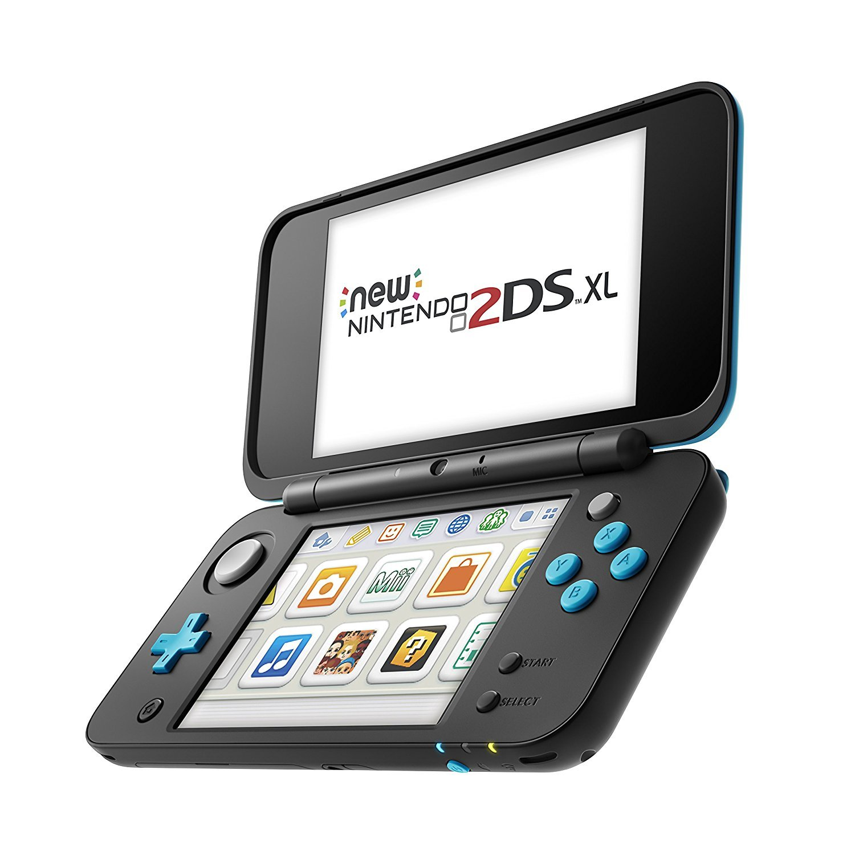 Nintendo 3Ds - Consola New Nintendo 2Ds XL, Color Negro y ...
