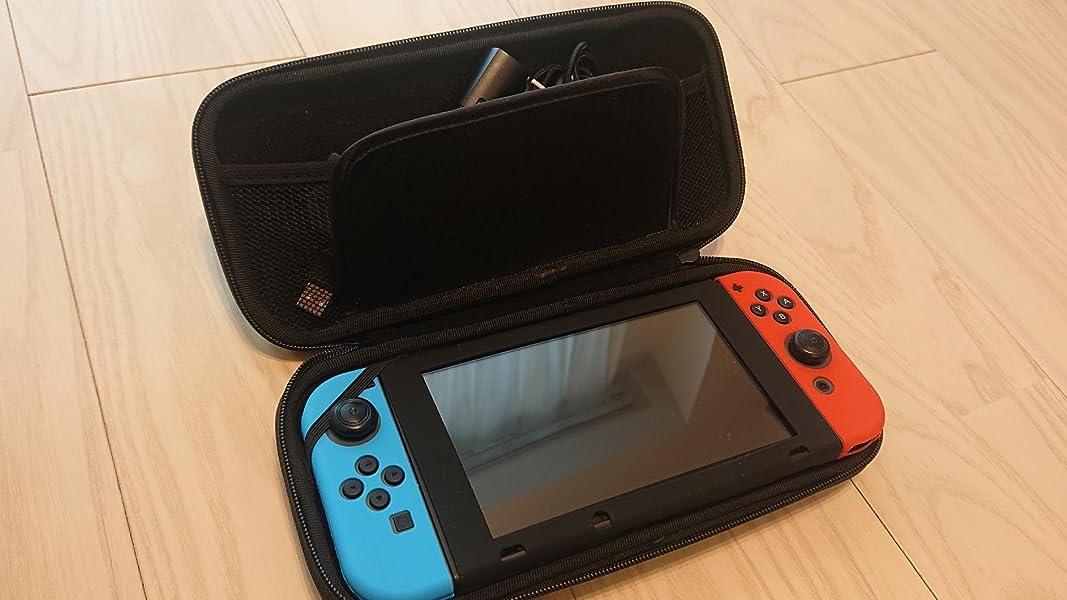 Nintendo-ニンテンドースイッチ-Aokeou-スイッチ専用バッグ-20枚カード収納