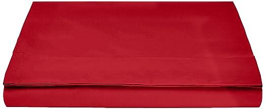 13 opinioni per AmazonBasics- Lenzuolo King 'Everyday', 100% cotone, Rosso scuro