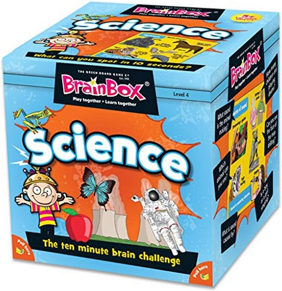 BrainBox Science early Learning Educational Card Game