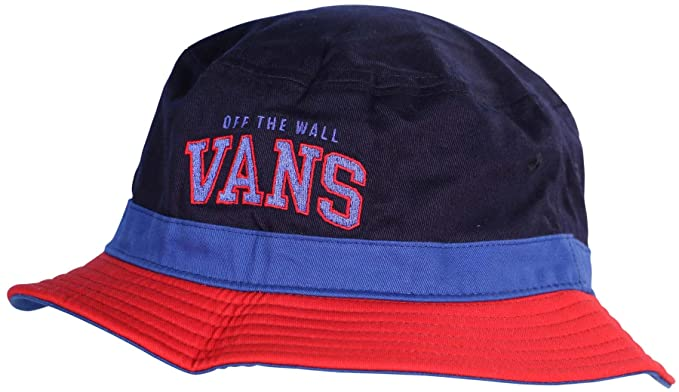 eeabdd74eb9 Vans Off The Wall Undertone Bucket Hat-Blue Peacoat Reinvent Red-L ...