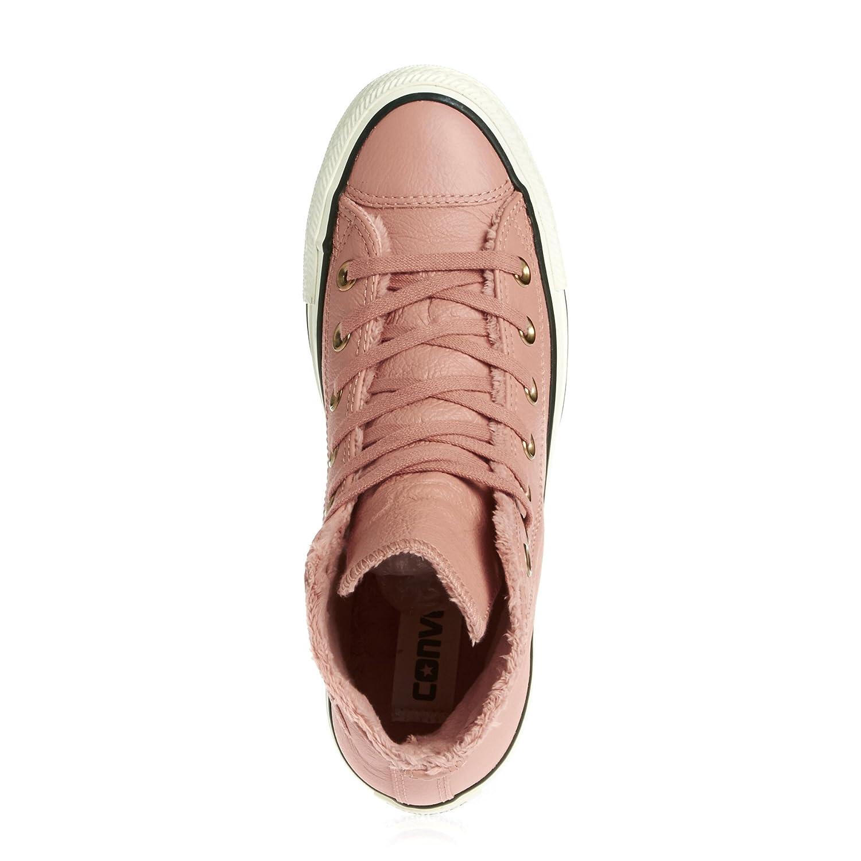 Converse Leder All Star, Sneaker Unisex - Erwachsene Sneaker Star, Rosa 555700