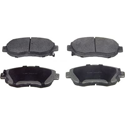 Wagner ThermoQuiet QC619 Ceramic Disc Pad Set, Front: Automotive