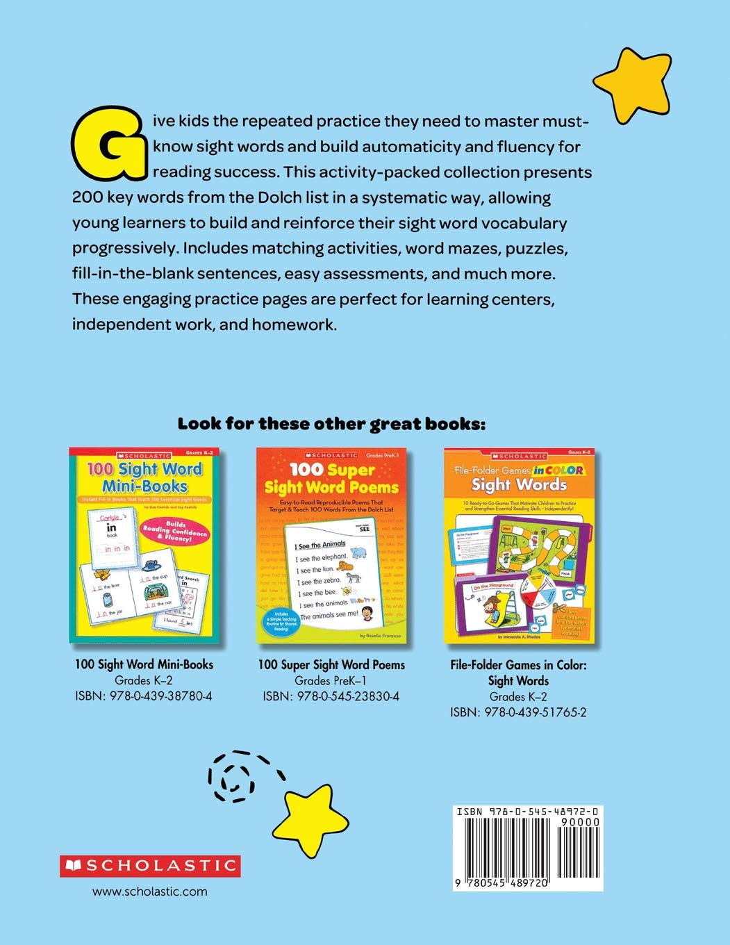 Buy The The Jumbo Book of Sight Word Practice Pages: Super-Fun  Reproducibles That Help Kids Read, Write, and Really Learn 200 Key High-Frequency  Words ...