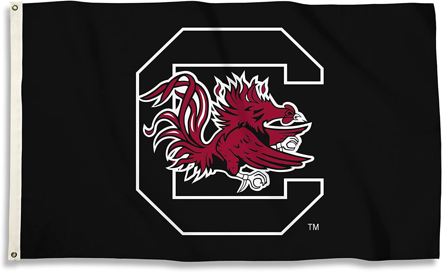 BSI NCAA College South Carolina Fighting Gamecocks 3 X 5 Foot Flag with Grommets