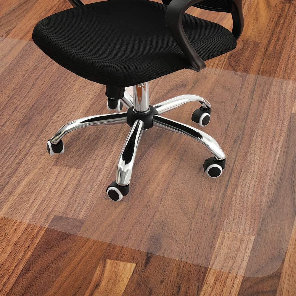 Office Chair Mat, Large 4x4 Inches Protector for Under Rolling Computer  Chairs, Desk, and Table, Suitable for Hardwood Floors and Tiles, Non-Curve,
