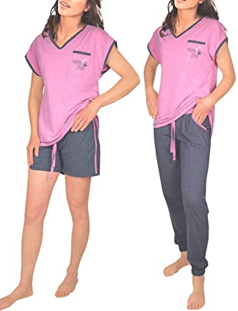 50-70% de réduction lisse nouvelle arrivee Consult-Tex - Ensemble de pyjama - Femme Small - - 50 ...