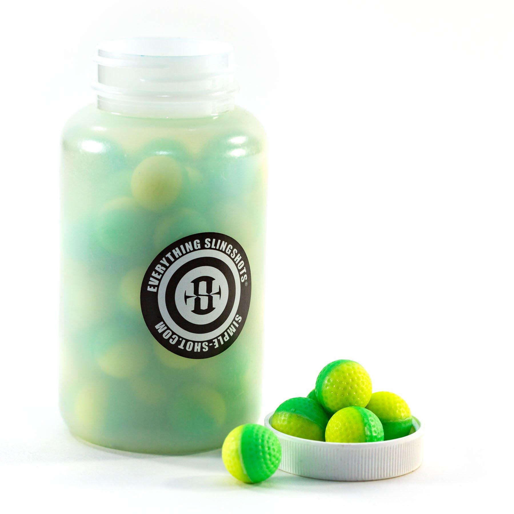 .68 Caliber Powderballs for Paintball and Slingshots