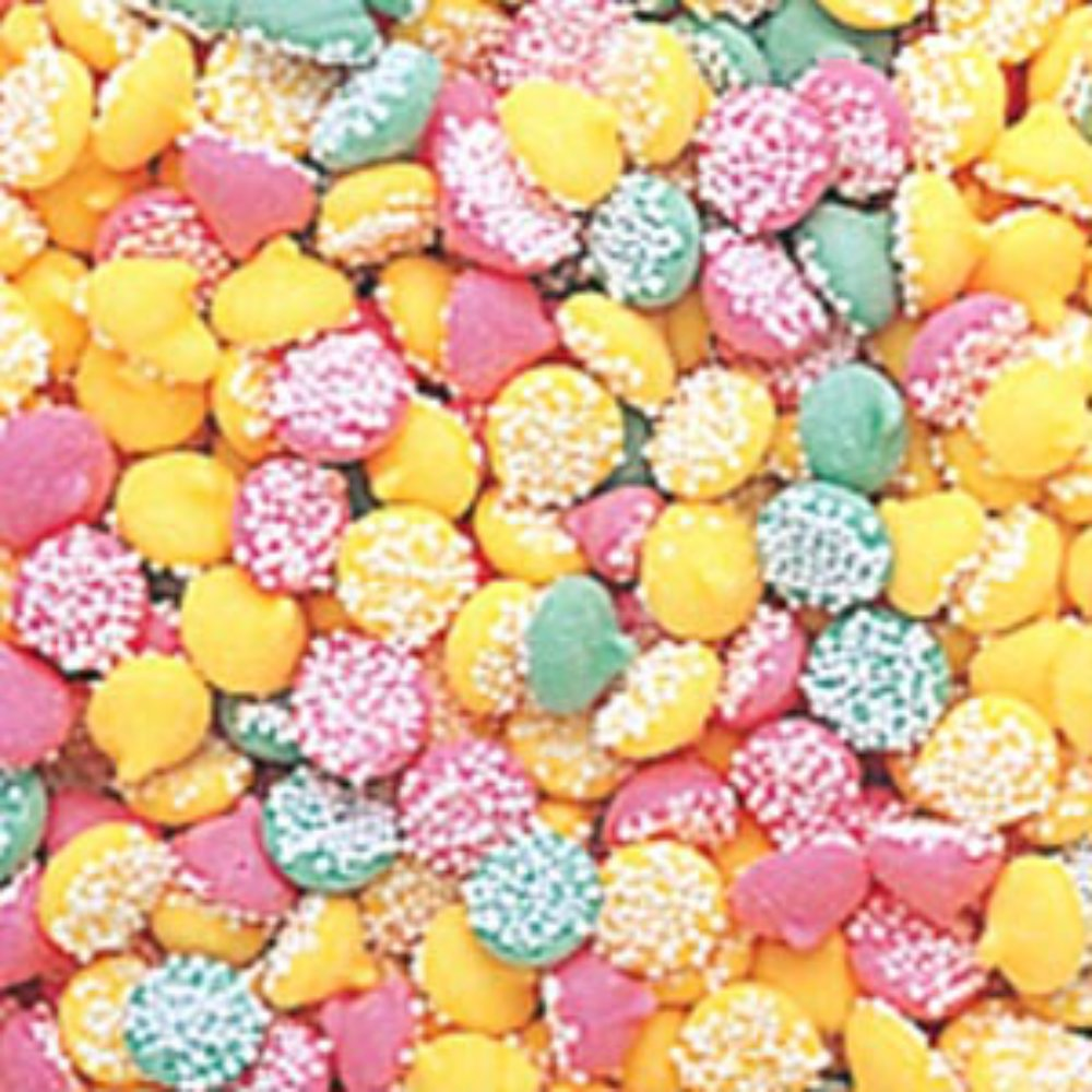 Petite Assorted Smooth & Melty Nonpareil Mint Chocolate Chips 5LB Bag