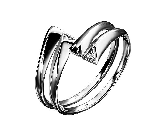 988a86b61 Couples wedding bands set, Bridal couples ring set, Matching wedding ring.  Handmade solid 14k black dip gold ring, diamond ring set. Goth minimalist  ...