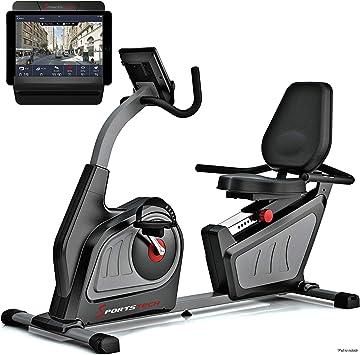 Sportstech ES600 Bicicleta estática reclinada Equipada con App de ...