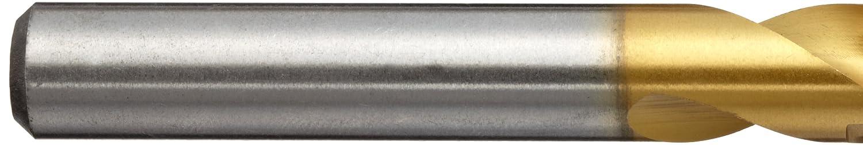 TiN Finish Pack of 5 YG-1 D4107 High Speed Steel Stub Screw Machine Drill Bit Straight Shank Slow Spiral 135 Degree 6.8mm Diameter x 74mm Length