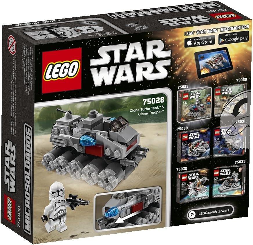 LEGO® Star Wars Microfighters 75028 Clone Turbo Tank™ NEU /& OVP Clone Trooper