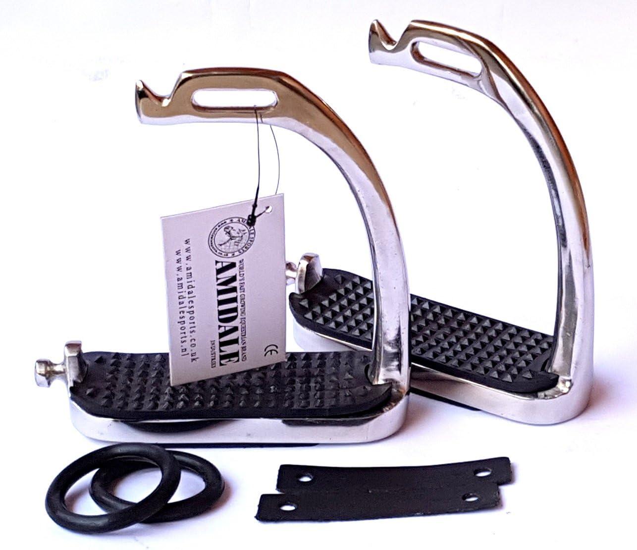 4.75 inch Peacock Stirrups Horse Equestrian Safety Iron FILLIS Stirrups