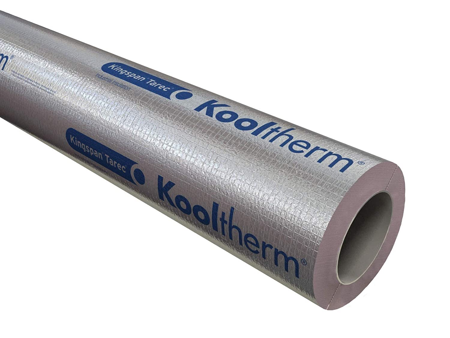 Kingspan Kooltherm Phenolic Pipe Insulation 1m Long-25mm-15mm