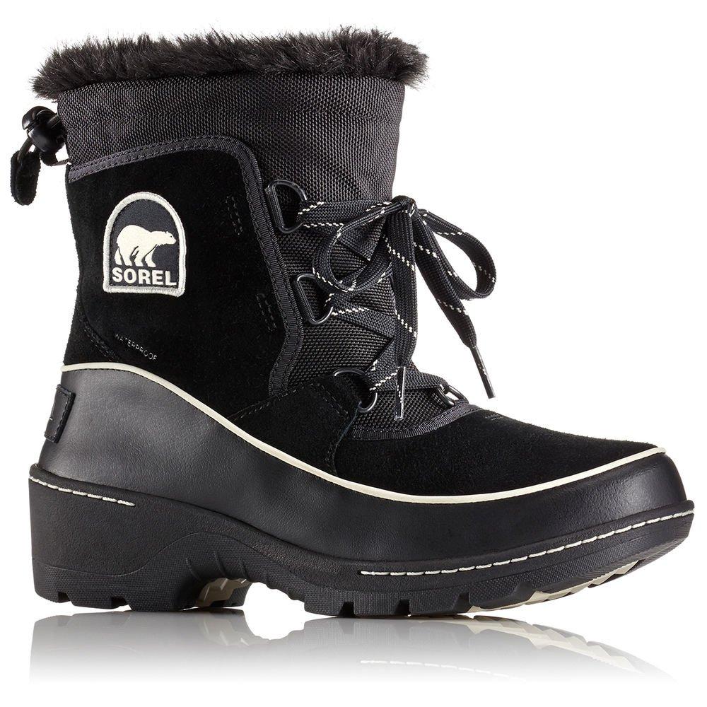 SOREL Women's Tivoli III Boot Black/Light Bisque 7