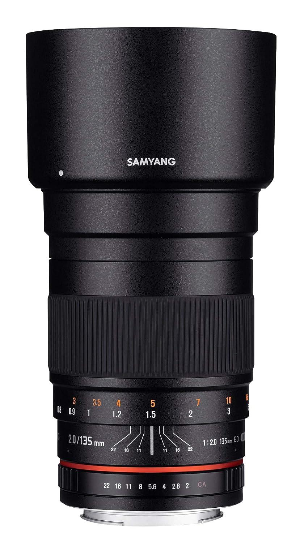 amazon co jp samyang 単焦点中望遠レンズ 135mm f2 0 キヤノンef用