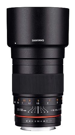 Samyang 135mm F2.0 Objektiv für Anschluss Fuji X
