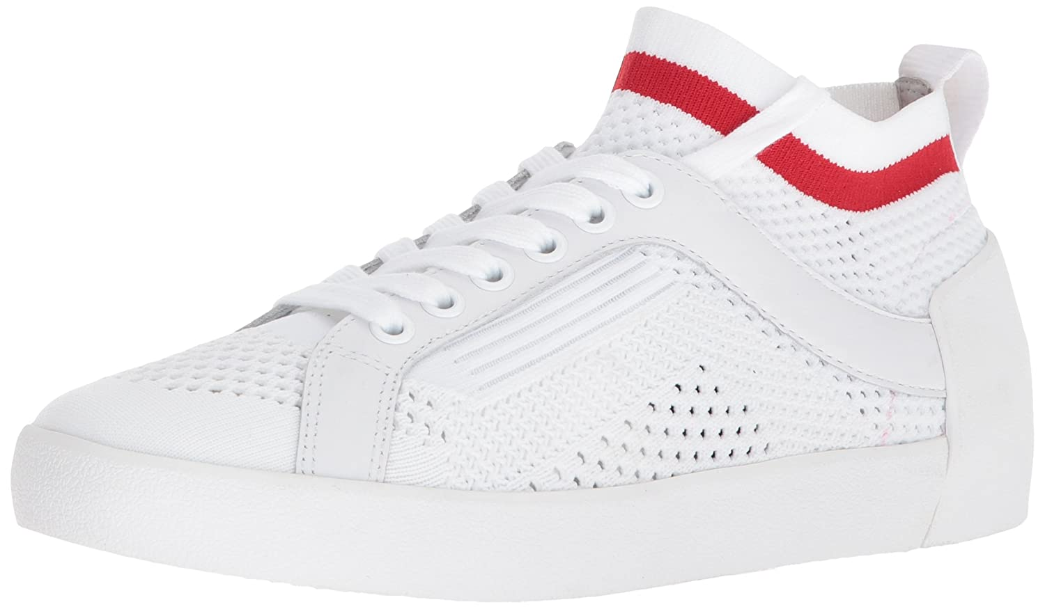 Ash Women's AS-Nolita Sneaker B0757F4WF2 37 M EU (7 US)|White/Red