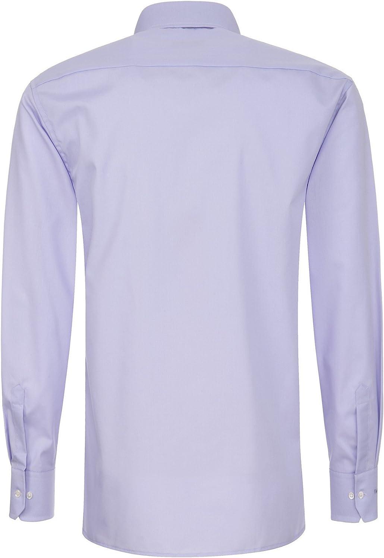 Eterna Modern Fit Camisa Lila 1100/X177/92 Flieder 42: Amazon.es: Ropa y accesorios