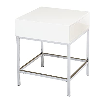 9c3d2bf2118 Amazon.com  Target Marketing Systems 72401WHT End Table White  Kitchen    Dining