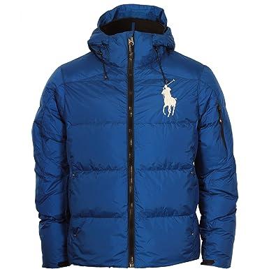 c3969eb30e420 Ralph Lauren Doudoune Big Pony Homme (Bleu) S MNBLOTWM5E100ABLU245 ...