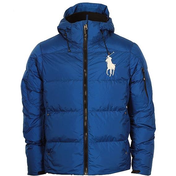 Ralph Lauren Chaqueta de plumas Big Pony para hombre (azul) S MNBLOTWM5E100ABLU245: Amazon.es: Ropa y accesorios
