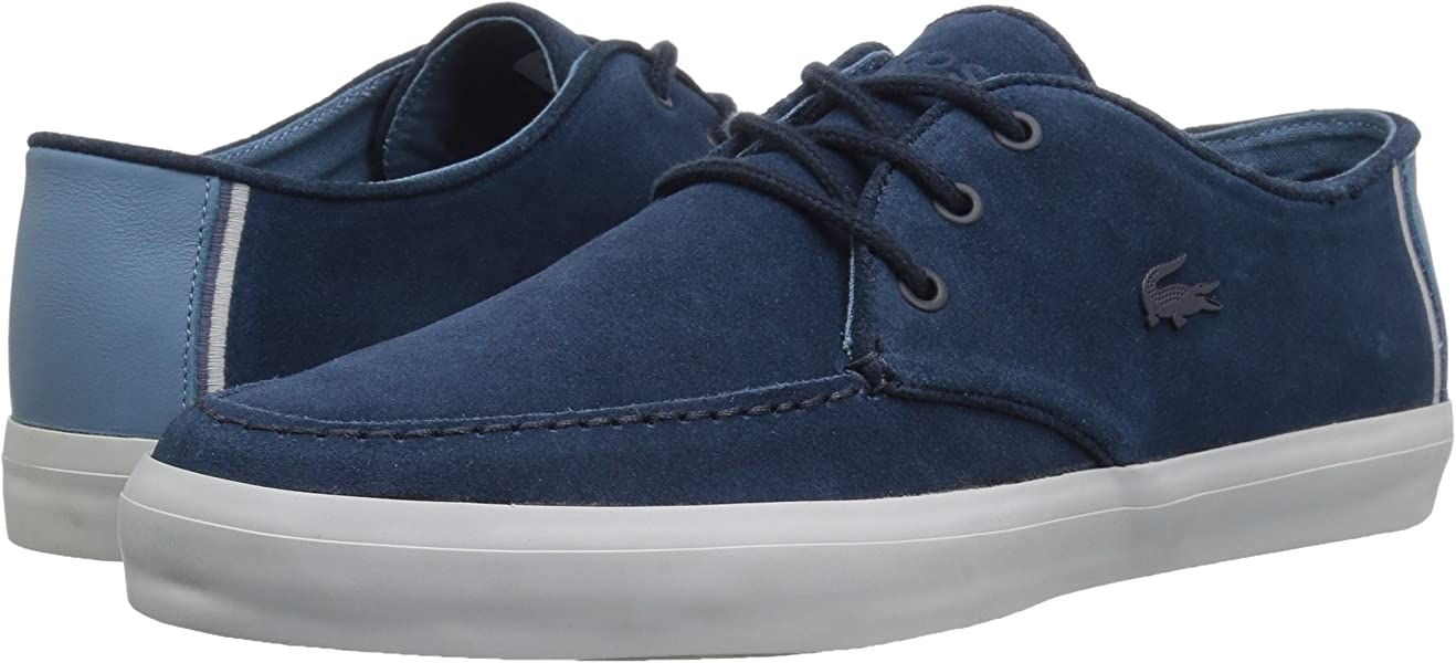 b9c04d954baef4 Lacoste Men s Sevrin 316 1 CAM Sneaker Navy 9 M US. Back. Double-tap to zoom