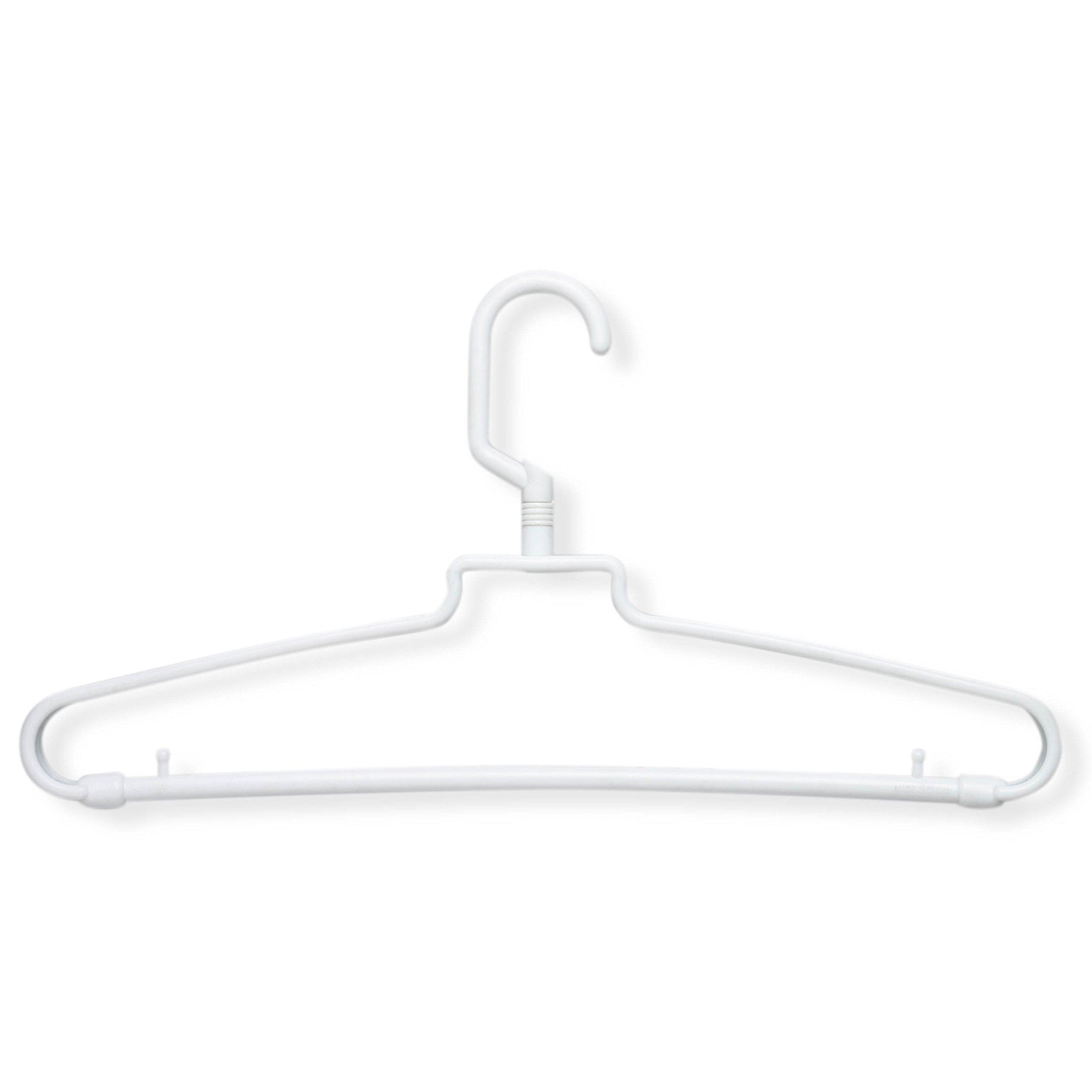 Honey-Can-Do HNG-01358 Hotel Style Hanger, 72-Pack, White