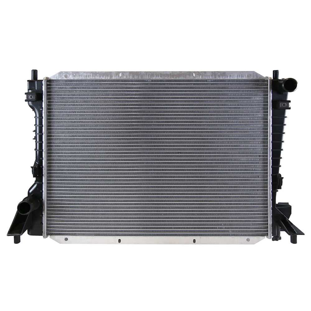 Prime Choice Auto Parts RK826 New Aluminum Radiator