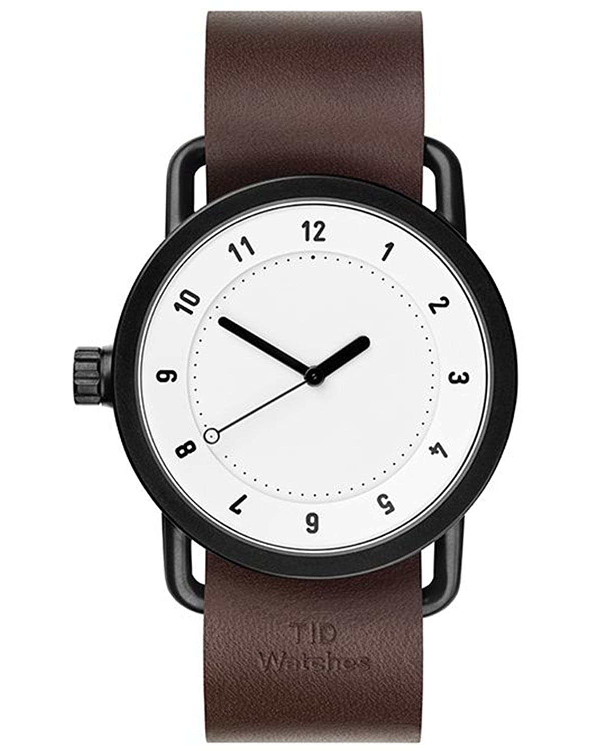TID No.1 White-Walnut Leather horloge 10110103