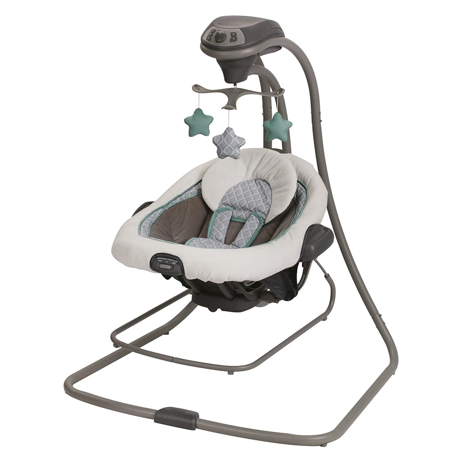 Graco DuetConnect LX Swing and Bouncer, Manor, One Size 1893831