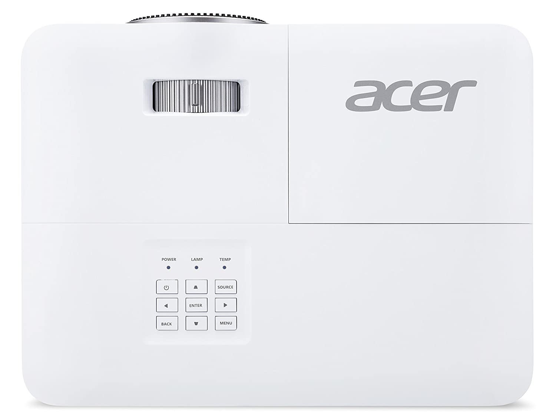 Contrasto 20.000:1 Acer X1123H Proiettore con Risoluzione SVGA Luminosit/à 3.600 ANSI Connessione VGA Speaker Integrato Durata della Lampada 5.000 h HDMI Nero