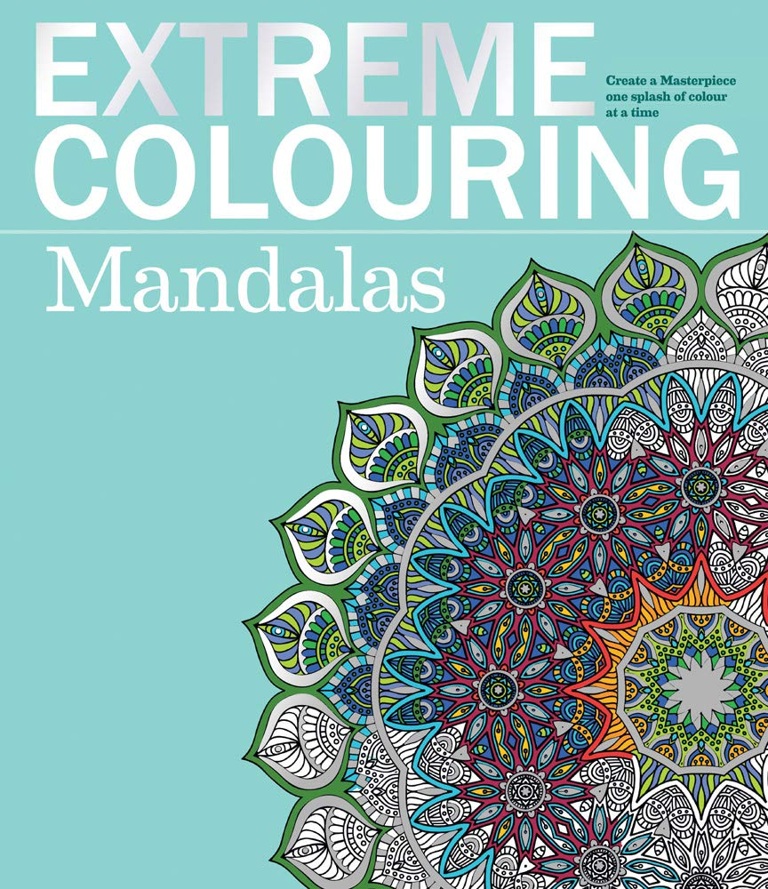Extreme Colouring Mandalas 9781780977355 Amazon Com Books