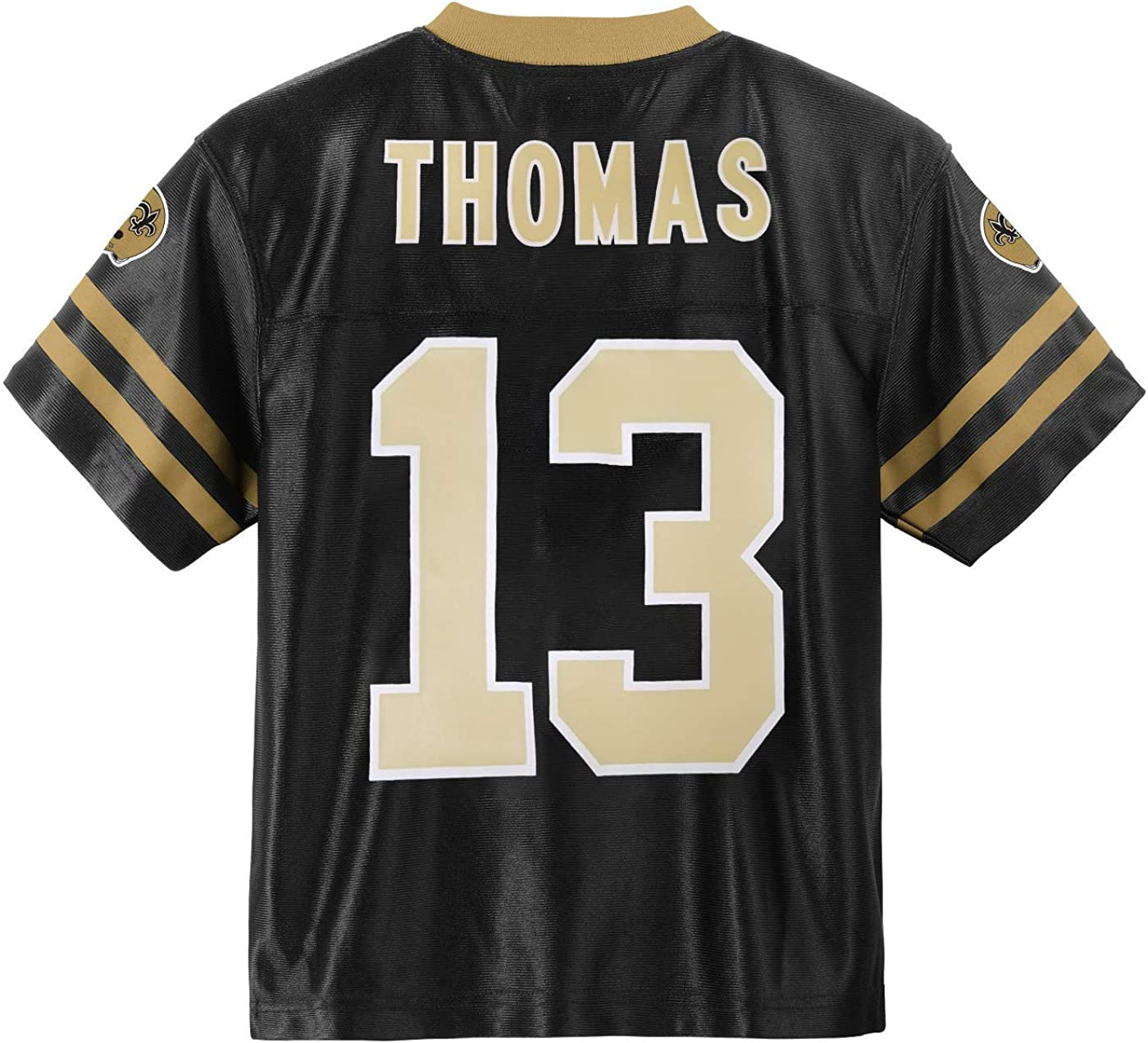 Michael Thomas New Orleans Saints #13 Black Youth Home Player Jersey