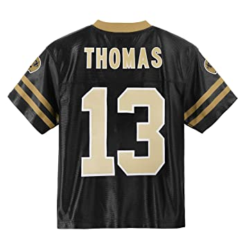 low priced 8b706 c6115 Outerstuff Michael Thomas New Orleans Saints #13 Black Youth Home Player  Jersey