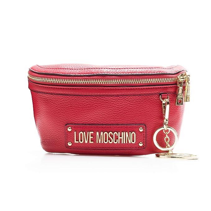 2b6f3da957 Moschino Love Marsupio Rosso Con Portachiavi, UNICA, rosso: Amazon ...