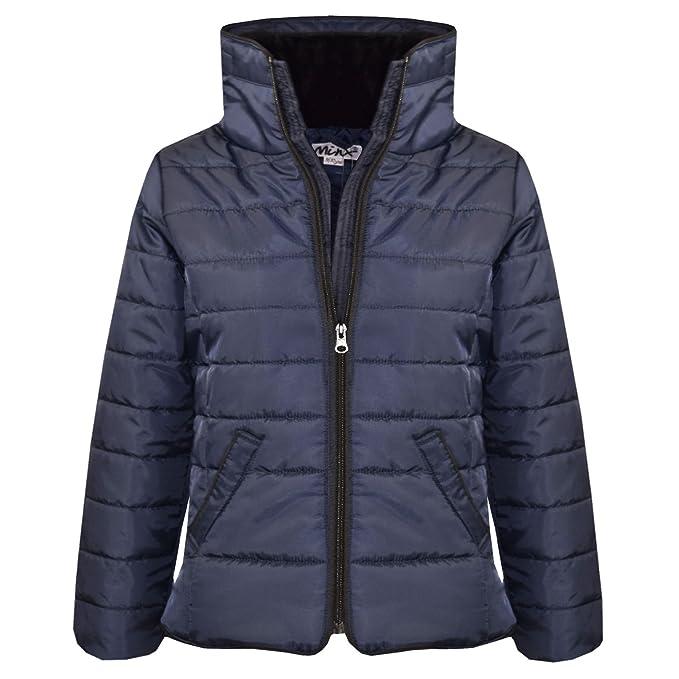 42b590e20ad9 Amazon.com  A2Z 4 Kids® Girls Jacket Kids Navy Padded Puffer Bubble ...
