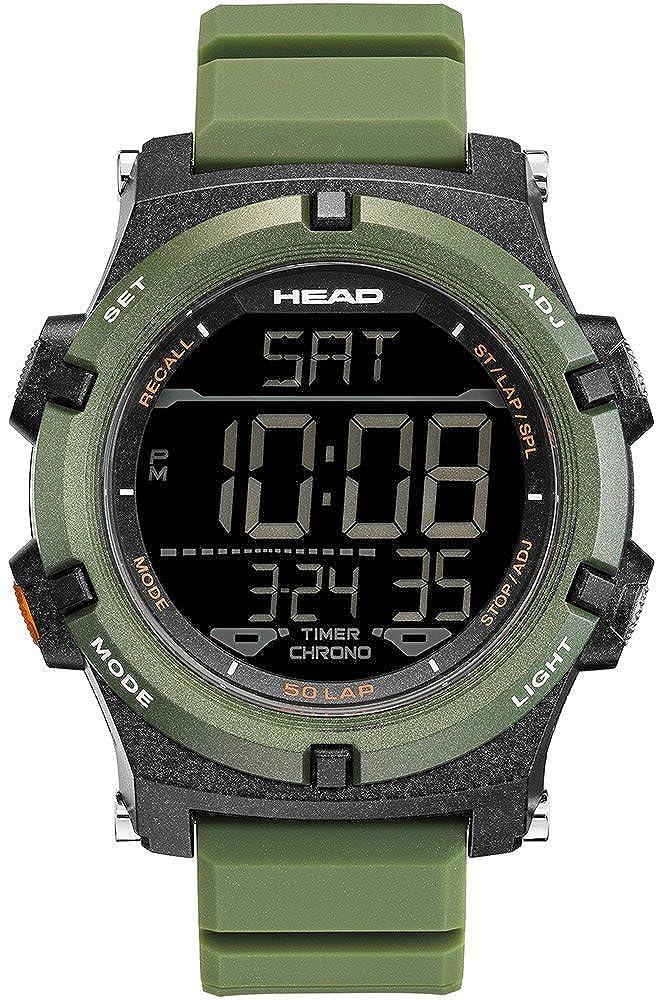 Head Reloj Digital para Hombre de Cuarzo con Correa en Resina HE-113-04