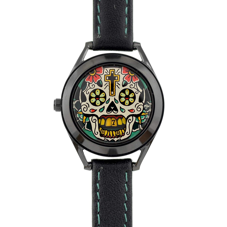 Amazon.com: Mr. Jones Watches The Last Laugh Tattoo Lady: Crispin Jones: Watches